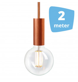 2X NUD Aqua Copper Series  Railverlichting + 2M Rails