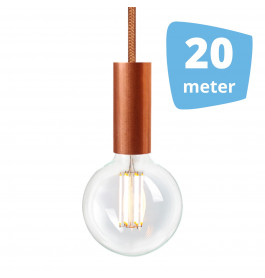 20X NUD Aqua Copper Series  Railverlichting + 20M Rails