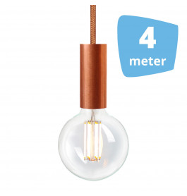 4X NUD Aqua Copper Series  Railverlichting + 4M Rails