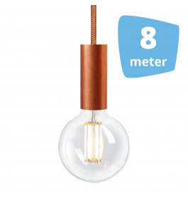 8X NUD Aqua Copper Series  Railverlichting + 8M Rails