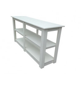 Witte toonbank/tafel van 150 cm breed