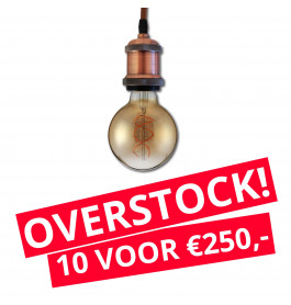 LED Railverlichting Horeca Craft Brown 10 STUKS!