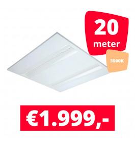 LED Panel NLO Wit 3000K 20 panelen