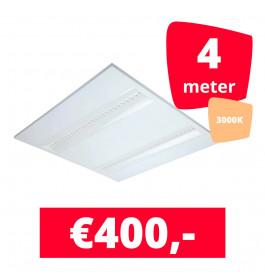 LED Panel NLO Wit 3000K 4 panelen