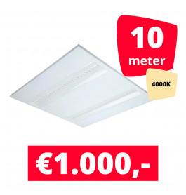 LED Panel NLO Wit 4000K 10 panelen