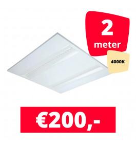 LED Panel NLO Wit 4000K 2 panelen