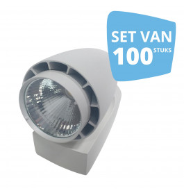 100 x LED spot Vento Philips wit