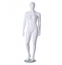 Plus size faceless etalagepop Gruppo Corso model Mona02 Glossy