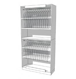 Strakke design kast glossy wit R-EC-001-A