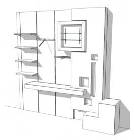 Intersection Wandsysteem R-KR-002