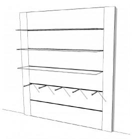 Linear wandsysteem R-LI-001