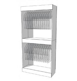 Strakke design kast glossy wit R-PR-001-B