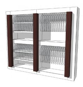 Strakke design kast glossy duotone R-PR-002-COMP