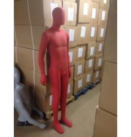 rode en grijze used look mannequins gebruikt in a staat merk pucci!