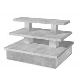 Zware piramide tafel groot betonlook