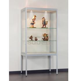 Special vitrinekasten Sicuro 100 met staanders | 100 cm
