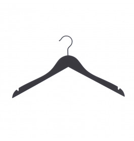 Hanger soft touch Helena 44 cm