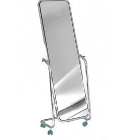 Italiaanse spiegels op wieltjes 145 cm x 44 cm