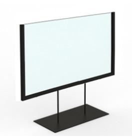 Display laag A5 zwart liggend