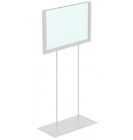 Display hoog A5 wit liggend ST0041
