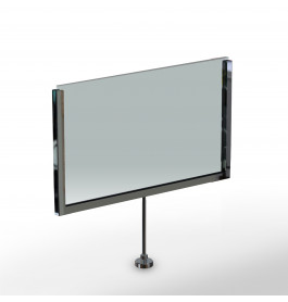Display A5 magnetisch chroom ST0044-A5_chrome