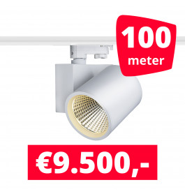 LED Railverlichting Stella White 100 spots + 100M rails