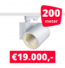 LED Railverlichting Stella White 200 spots + 200M rails
