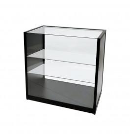 Telefoonwinkel Toonbank + Vitrine Zwart 100cm Breed Full Glass