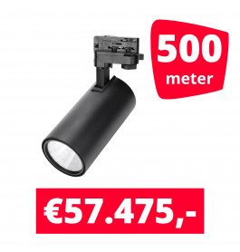 LED Railverlichting Style Zwart 500 spots + 500M rails
