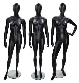 3x faceless etalagepop dame merk Gruppo Corso MIX zwart