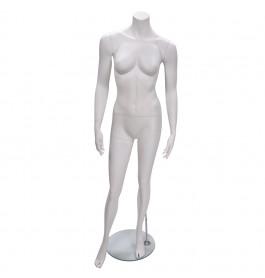 Headless Etalagepop Dame Merk Gruppo Corso OPW5 Wit