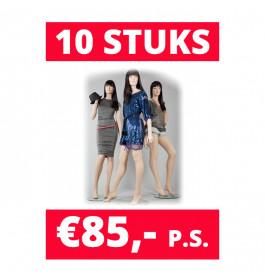 Aanbieding! Paspoppen | 10 paspoppen in de mix voor €85,- p.s.!