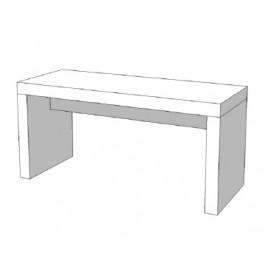 Glossy tafel wit 200x100 cm