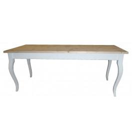 Sierlijke houten tafels 300 cm met queen-ann sierpoten
