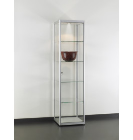 Special vitrinekasten Jet Set H50 Chroom zonder opties| 50 cm