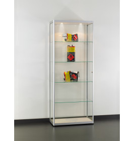 Special vitrinekasten Jet Set H80 Chroom zonder opties | 80 cm