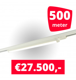 250x LED Railverlichting TL Linear White spots + 500M rails