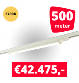 LED Railverlichting TL Linear Wit 2700K 500 spots + 500M rails