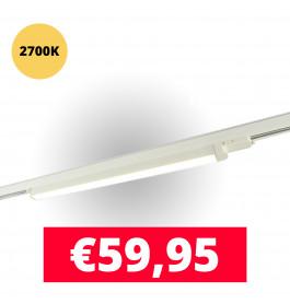 LED Railverlichting TL Linear 120 cm Wit 2700K