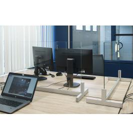 AFHAALPRIJS Toonbank scherm / scheidingswand modulair maat 3  maat 95 cm breed 59 cm hoog