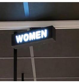 "LED-Sign ""WOMAN"""