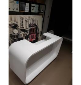 Super high glossy toonbank wit 175 x 100 x 60 cm - nummer 49