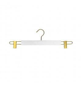 Hanger white Ema 42 cm gold hook