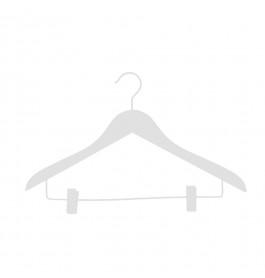 Hanger white Helena 44 cm clips