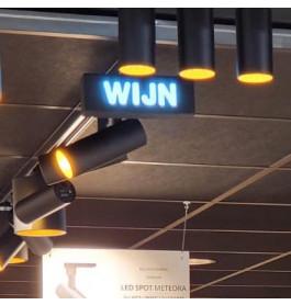 "LED-Sign ""WIJN"""