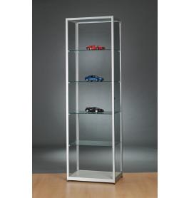 Luxe vitrinekast aluminium 60 cm